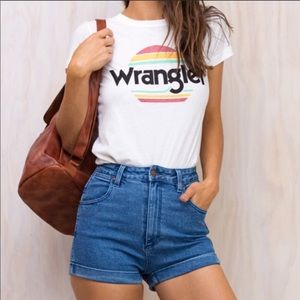 Urban Outfitters Wrangler Pinup Shorts - S